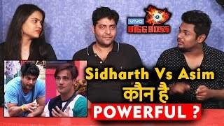 Sidharth Vs Asim | Who Is The More POWERFUL Contestant Of Bigg Boss 13 | Bigg Charcha | BB 13 Video