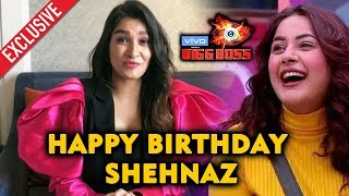 Bigg Boss 13 | Shefali Bagga Birthday Wishes To BEST Friend Shehnaz Gill | BB 13 Video