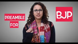 Watch: The A B C of the Preamble to the Constitution, simplified enough for the BJP to understand