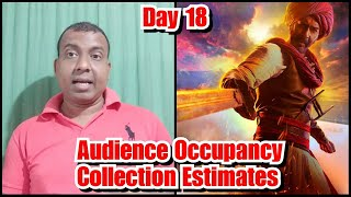 Tanhaji Audience Occupancy And Collection Estimates Day 18