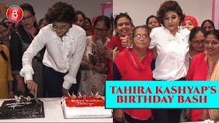 Tahira Kashyap's UNIQUE Birthday Celebration With 100 Breast Cancer Women