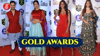 Saiee Manjrekar, Ananya Panday, Kunal Kemmu, Kriti Kharbanda Make A Splash At The Gold Awards