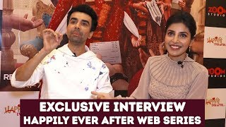 Harshita Gaur Exclusive Interview About Web Series Happily Ever After