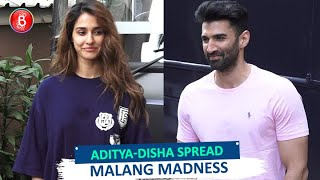 Disha Patani And Aditya Roy Kapur Spread Some Malang Madness Across Town
