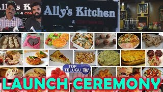 Ally's Kitchen Italian & Continental Launching Ceremony | Modular Kitchen | Top Telugu TV