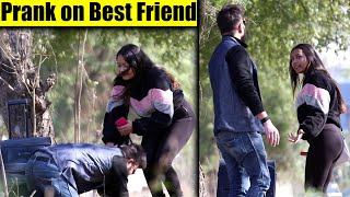 Prank On My Best Friend | prank in India 2020 | Unglibaaz