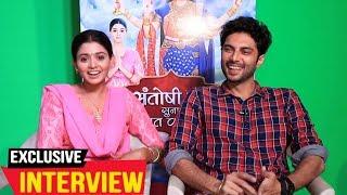 Tanvi Dogra And Ashish Kadian Exclusive Interview | Santoshi Maa Sunaye Vrat Kathayein