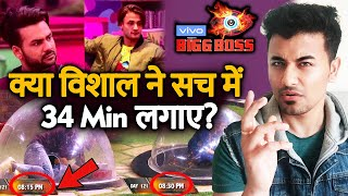 Bigg Boss 13 | Vishal Aditya Singh 34 Mins Time In Nomination Task CREATES Hungama On Social Media