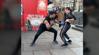 Nora Fatehi Amazing Dance Video With Salman Yusuf Khan On Street