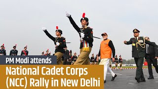 PM Modi attends National Cadet Corps (NCC) Rally in New Delhi | PMO