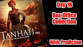 Tanhaji Box Office Collection Till Day 18 With Day 19 Prediction