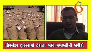 PORBANDAR પોરબંદરમા મગફળીની ખરીદી માટે ૩૦૪૦૯ બારદાન ફાળવવામાં આવ્યા   22 01 2020