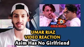 Umar Riaz LIVE Reaction On Vikas Gupta Accusing Asim Having Girlfriend | Bigg Boss 13