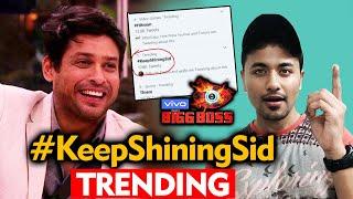 Bigg Boss 13 | Sidharth Shukla Fans TREND #KeepShiningSid | BB 13 Latest Video