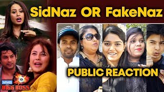 Bigg Boss 13 | Kashmira CALLS SidNaz As FakeNaz | PUBLIC REACTION | BB 13 Video