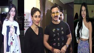 Jawaani Jaaneman Screening With Saif Ali Khan,Kareena kapoor & Many Other  | News Remind