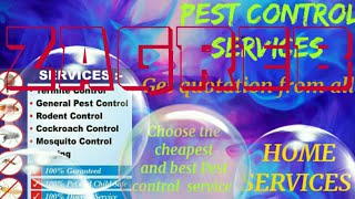 ZAGREB         Pest Control Services 》Technician ◇ Service at your home ☆Bed Bugs ■near me ☆Bedroom♤