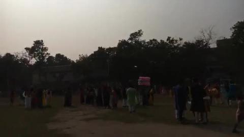 सरस्वती पूजा की धूम Siliguri college में