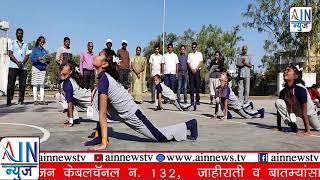 क्रीडा-भारतीच्या सूर्यनमस्कार स्पर्धात ४३० खेळाडूंचा समावेश.