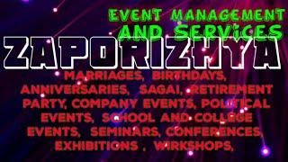 ZAPORIZHYA    Event Management 》Catering Services ◇Stage Decoration Ideas ♡Wedding arrangements ♡ □
