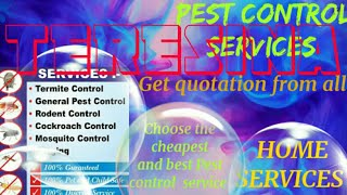 TERESINA      Pest Control Services 》Technician ◇ Service at your home ☆Bed Bugs ■near me ☆Bedroom♤▪