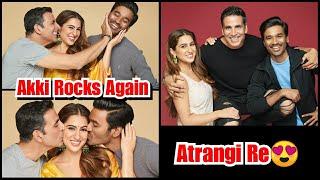 Akshay Kumar To Star In Atrangi Re Movie Along with Dhanush And Sara Ali Khan