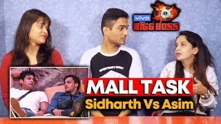 Bigg Boss 13 | Mall Task | Asim Fans Reaction | Bigg Charcha | BB 13 Video