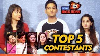 Bigg Boss 13 | TOP 5 Contestants | Asim Fans Reaction | Bigg Charcha | BB 13 Video