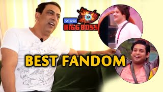 Vindu Dara Singh On The Best Fandom In Bigg Boss 13 | Sidharth Shukla | Asim Riaz | Sana