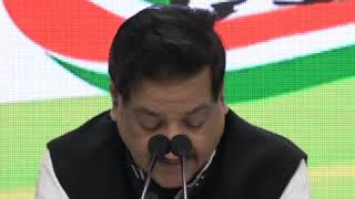 Prithviraj Chavan addresses media at Congress HQ on Minimum Support Price (MSP)