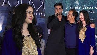Vidhu Vinod Chopra, Abhijat Joshi , Adil & Sadia At 30Mins Special Screening Of Shikara