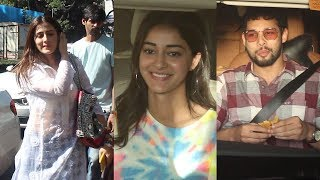 Deepika Padukone, Nupur Sanon, Ananya Panday & Siddhant Chaturvedi Spotted At Karan Johar Residence