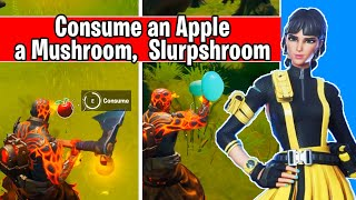 Consume an Apple, a Mushroom, and a Slurpshroom (glitch bug fix)