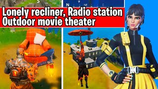 Visit a Lonely Recliner, a Radio Station, and an Outdoor Movie Theater (glitch bug fix)