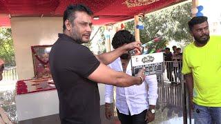 Challenging Star Darshan New Kannada Movie Launch At Ambareesh Samadhi || Abishek Ambareesh