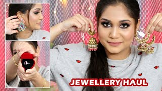 Huge Amazon + Instagram Jewelry Haul | Nidhi Katiyar