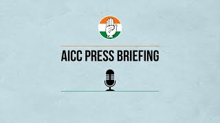 LIVE: AICC Press Briefing By Rajeev Gowda, Gourav Vallabh and Ms Supriya Shrinate Congress HQ