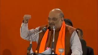 Shri Amit Shah addresses public meeting in Pitam Pura, Delhi
