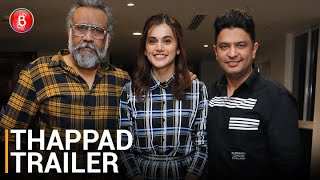 Thappad Trailer: Taapsee Pannu's HARD Hitting Film Is A Slap On The Patriarchal Society