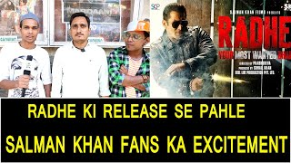 Salman Khan Fans Reactions And Excitement On Radhe Movie Ahead Of Its Release