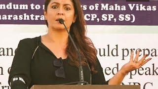 Pooja Bhatt Speaks Against NRC CAA | Speech In Mumbai Colaba | @ SACH NEWS |