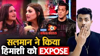 Bigg Boss 13 | Salman Khan EXPOSES HImanshi Khurana In Front Of All | BB 13 Episode Preview