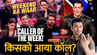 Bigg Boss 13 | This Contestant Gets CALL From CALLER OF THE WEEK | Weekend Ka Vaar | BB 13
