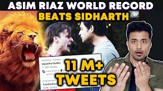 Bigg Boss 13 | Asim Riaz CREATES History, 11 Million+ Tweets | Beats Sidharth | BB 13 Video