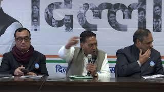 LIVE: Delhi Congress launches 2020 Delhi Congress Manifesto