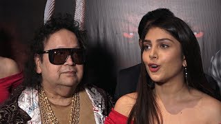 Bappi Lahiri, Hiten Tejwani, Ishita Chauhan At Permier Of Devil Night