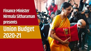 Finance Minister Nirmala Sitharaman presents Union Budget 2020-21 in the Lok Sabha | PMO