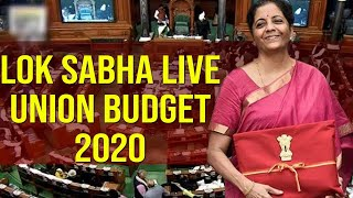 Lok Sabha LIVE | Union Budget 2020 | Nirmala Sitharaman Budget | PARLIAMENT OF INDIA | Top Telugu TV