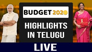 LIVE Debate on  Union Budget 2020 | Nirmala Sitharaman Budget | PARLIAMENT OF INDIA | Top Telugu TV