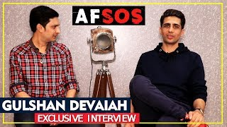 Exclusive: Gulshan Devaiah Exclusive Interview | AFSOS | BY RJ Divya Solgama